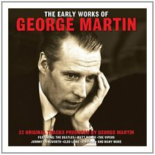 George Martin - The Early Works Of - 32 Original Tracks (2CD 2014) NEW/SEALED