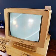 Elonex TE5154 Vintage 1980s 1988 Computer Monitor B+W D Sub Inc UK P+P
