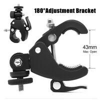 180° Motorcycle Digital Camera DV Bicycle Pan Tilt Universal Bracket Adjustment