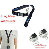 Wrist Strap Neck / Hand Lanyard Rope for GoPro Hero 5/4/3+ 3 With Release Buckle