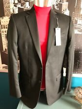 marks & spencer suit jacket 38 long black