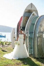 Mia Solano, Belinda, Size 6 Ivory Wedding Dress