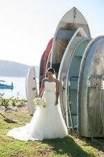 Mia Solano, Belinda, Size 6, Wedding Dress (lace up corset size 8-10 also fits)