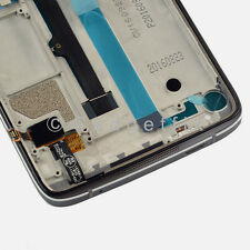 US Black Alcatel One Touch Idol 4 6055U 6055B LCD Touch Digitizer Assembly Frame