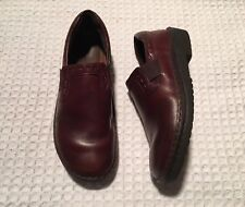 NAOT Leather Flats Loafers Slip-on Shoes $185 Dark Brown 39 / 8