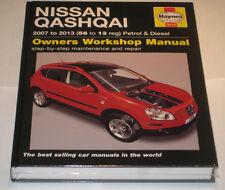 Reparaturanleitung Nissan Qashqai / Qashqai +2, Baujahre 2007 - 2013