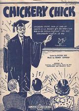 Chickery Chick-1945-sylvia Dee/Lippman-Sheet Music