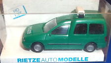 VW Caddy Police Rietze H0 1/87 EMBALLAGE D'ORIGINE #LJ5