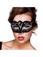 Adulto VERONA Maschera Occhi Argento Glitter Vestito Costume Halloween Masquerade Ball