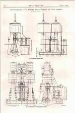 1898 maudslays moteurs SS LADY Derby Marine Engineering Tamise