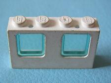 60596 57895 Lego x 5 White Windows avec bleu translucide en verre city police