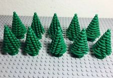 Lego New Green Large Pine Tree X10 Bulk Lot For Christmas (4x4x6 2/3)