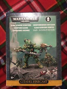 Warhammer 40K Eldar Striking Scorpions BNIB Games Workshop