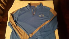 NFL Detroit Lions Long Sleeve Pull Over XL