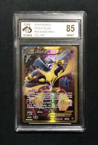 Pokemon Alakazam EX Fates Collide 125/124 Full Art - CGA Graded 85 Near Mint