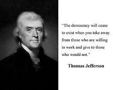 President Thomas Jefferson 1801-1809 8.5x11 Amazing Photo