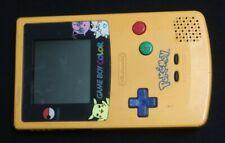 Nintendo Game Boy Color Pokemon Edition Handheld System - Yellow