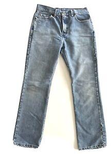 Levis Vintage Light Wash Denim Jeans Size W32 L31 made in USA