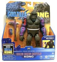 "Playmates Monsterverse Godzilla vs Kong 15cm 6"" Hong Kong Battle Kong Rare"