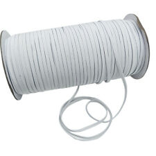 100M 1/4'' Elastic Rope Band Rubber Tape Stretch String Cord Ear Hanging Sewing