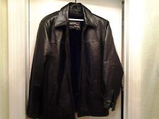 Man's Large Leather Lined Jacket by Modal of New York