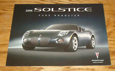 2006 Pontiac Solstice 46-page Original Car Sales Brochure Catalog