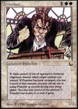 1x Preacher NM-Mint, English The Dark MTG Magic