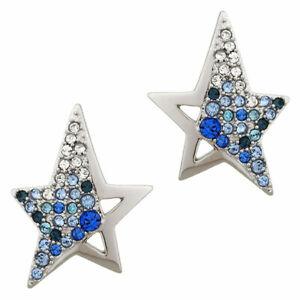 Boucles d'oreilles étoile THIERRY MUGLER Plaquées Argent avec Zirconium. 89,00€