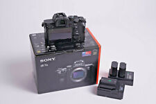 Sony a7 III 24.2MP Mirrorless Digital Camera - Black (ILCE7M3/B) - USED