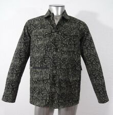 Tavik isle canvas men's light weight mechanic shirt jacket black & olive S new