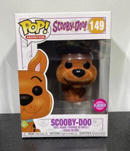Funko Pop Vinyl, Scooby-Doo, Flocked, Animation #149 + Pop Protector