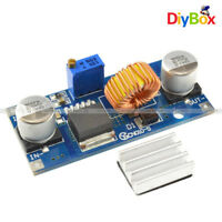 5A XL4015 DC-DC Step Down Adjustable 4-38V Power Supply Module LED Lithium