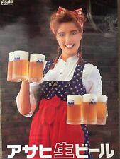 "New Asahi Beer 2004 ""IZAKAYA"" For promotional purposes B2 Size Poster Japan F/S"