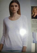 JETTE JOOP Blue Motion XS 34 Weiß Feinstrickpullover Strickpullover Pullover
