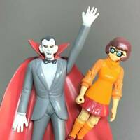 Scooby-Doo Series 1 Velma And Dracula Action Figures 1068W Toys Rare