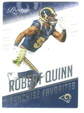 2015 Panini Prestige Franchise Favorites Acetate #12 ROBERT QUINN St Louis Rams