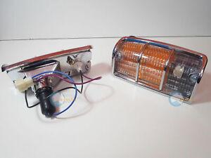 Holden HJ HX HZ Monaro Ute Van Sedan Statesman Front 2x Corner Lamp Lens Assembl