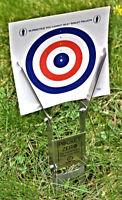 'Pocket Zero Original' Paper Target Holder. Zeroing for Air Rifle, Air Pistol