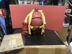 "Hellboy Vinyl 13"" Figure Signed Eric So Mike Mignola W/CoA Artist Proof/999"