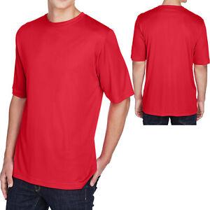 Mens Moisture Wicking T-Shirt Dri Fit Performance Tee XS-XL 2XL, 3XL, 4XL NEW