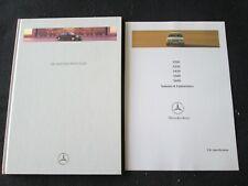1996 Mercedes S-class Hardcover Catalog S320 S420 S500 Sedan Euro Brochure W140