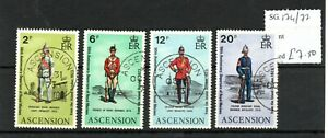 Ascension 1973 50th Anniversary of Royal Marines set SG174/77 fine used