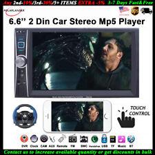 2 Din 6 inchs MP5 Player Mirror Link USB/AUX/SD Car Radio BT Touch Screen