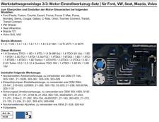 Motor-Einstellwerkzeug-Satz | für Ford, VW, Seat, Mazda, Volvo