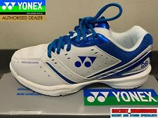 NEW MENS YONEX POWER CUSHION 28 SHB28EX BADMINTON SQUASH INDOOR SHOES BLUE