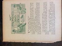 m17b7 ephemera 1920s short story promises and pies ethel talbot