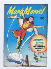 Mary Marvel-Estilo Retro toalla de té de algodón portada de la revista por la mitad de un burro