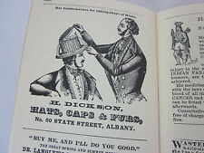 American Advertising 1800-1900 Reproduction Book pamphlet Americana Review print
