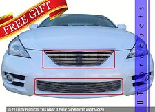GTG 2007 - 2008 Toyota Solara 2PC Polished Replacement Billet Grille Grill Kit
