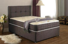 Fabric Divan Beds with Mattresses